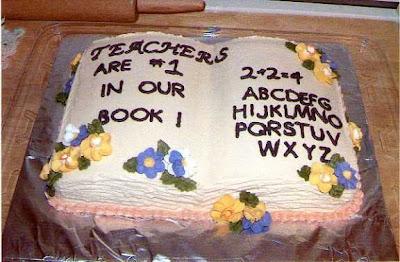 Lynns Cakes Teacher Birthday Cake