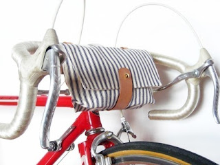 handlebar bike bag, etsy
