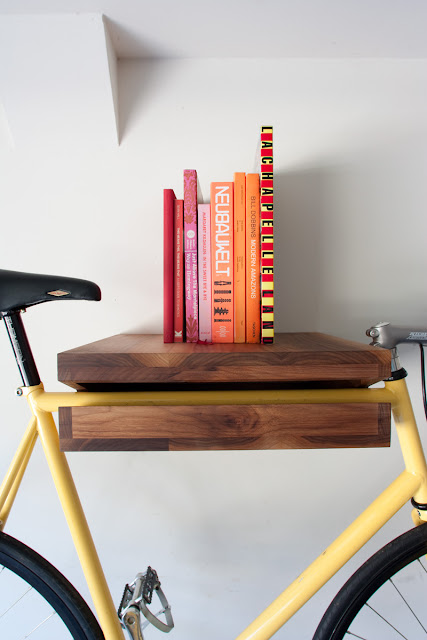 Bike Shelf, knifeandsaw, designer: Chris Brigham