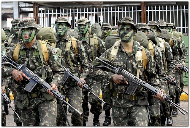 Exército quer crescer na selva