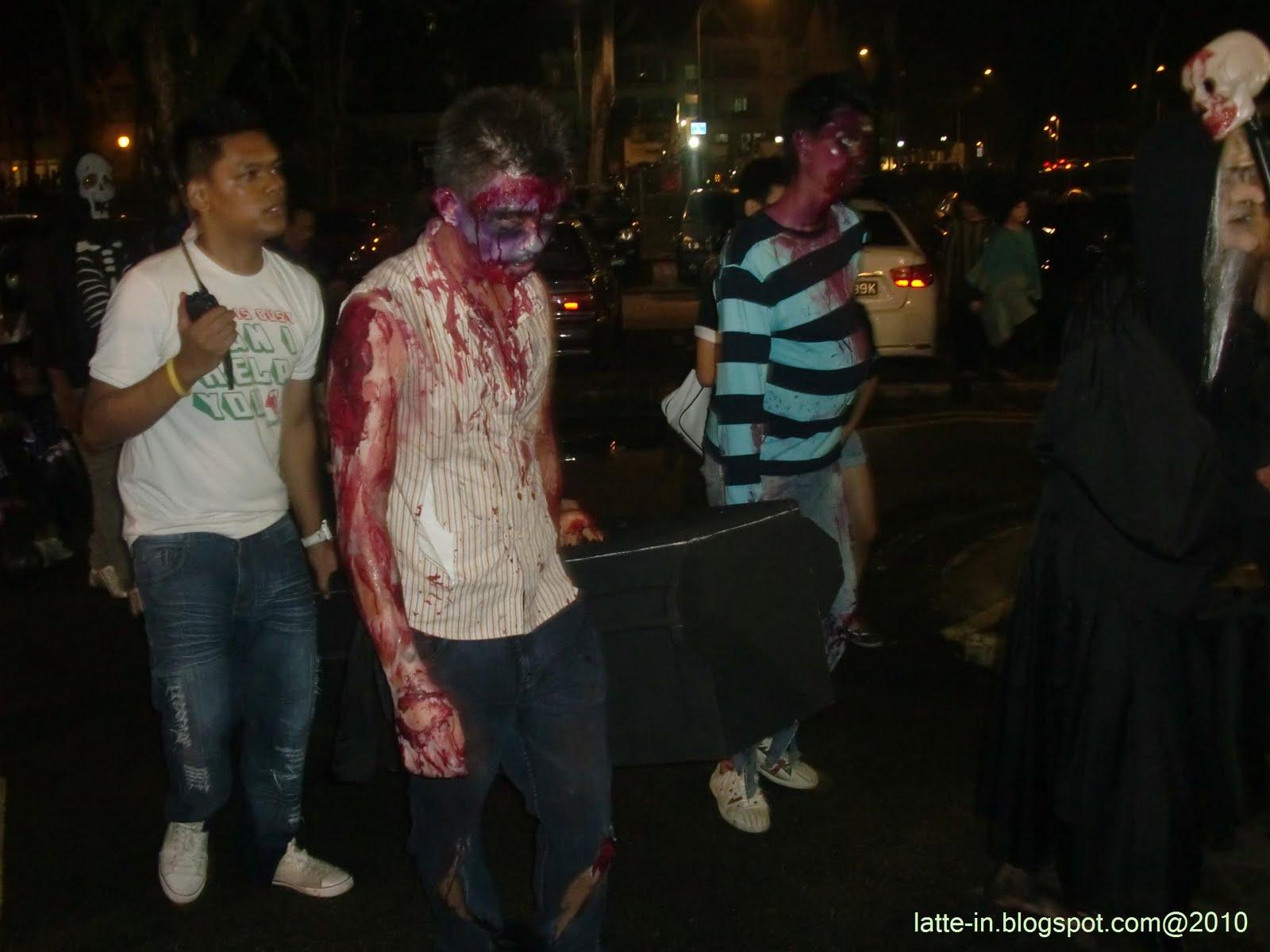Halloween Party 2010, Escape Themepark Singapore | Take @ Break