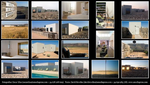 Aire de bardenas navarra espa a hoteles nicos for Hoteles minimalistas en espana