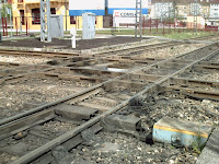 El Berrón - Detalle cruce ferrocarriles