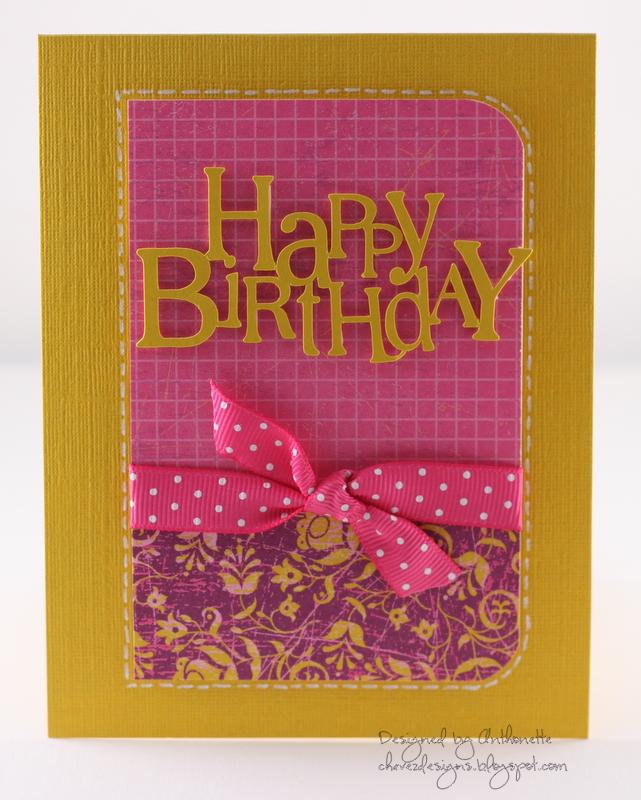 Chavez Designs Happy 50th Birthday A Trio of Cards – Designs of Cards for Birthday