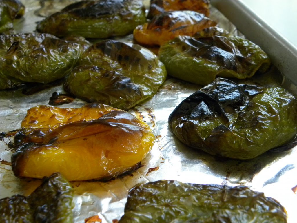 Diane's Texas Garden: Roasted Peppers
