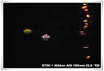梅窩洪聖誕水燈天燈節2010 - 水燈篇