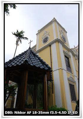 聖老楞佐堂 (Paroquia de S. Lourenco)