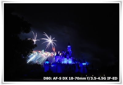 「星夢奇緣」煙花表演@香港迪士尼樂園(Disney in the Stars - Fireworks@Hong Kong Disneyland)