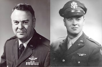 Carter as 2nd Lt. and Full Colonel