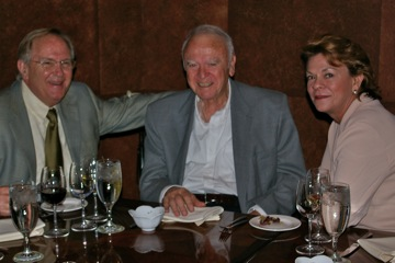 Oscar and Nancy Newton with Carter 2005