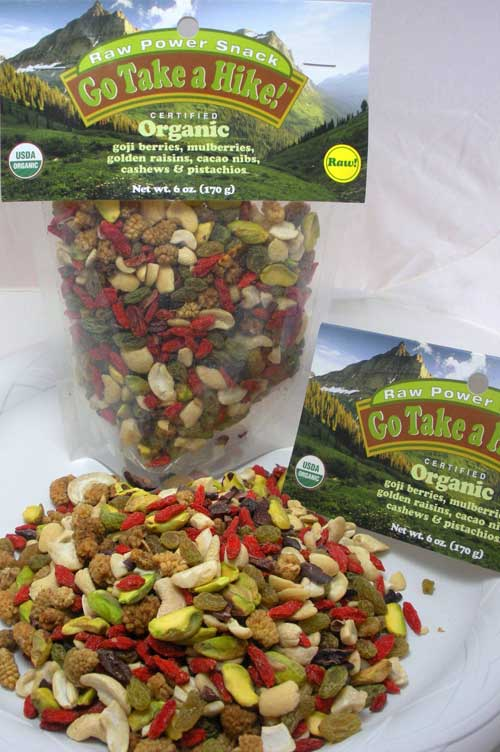 Go on a hike trail mix
