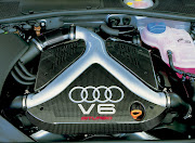 Audi RS4 Engine Wallpaper