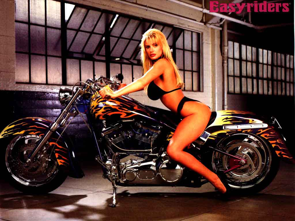 Chicks On Bikes Hot Girls Motorcycles Hotties Choppers