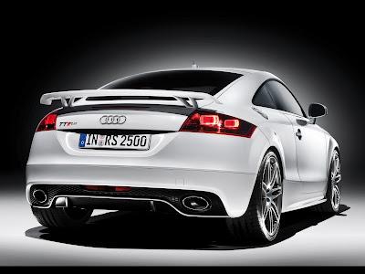 Tuned Audi TT Rear