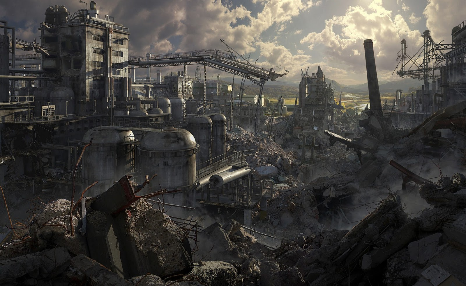apocalyptic city wallpaper - photo #11