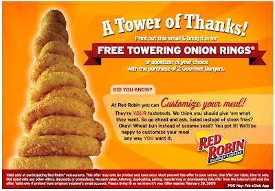 photo about Red Robin Printable Coupons identified as No cost Cafe Printable Discount coupons, Prompt Food items Cafe