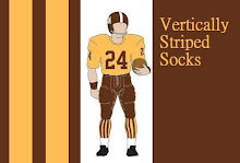 Vertically Striped Socks