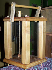 Handcrafted Wood Candle Lantern