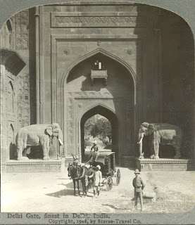 Delhi Gate, 1908,India