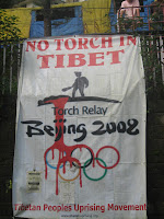 Tibet, protest Tibet
