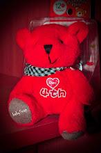 MY BABY RED BEAR..CUTE WAA..