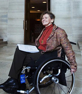 Pat+Danforth VIA Rail must make cars wheelchair accessible: Supreme Court of Canada photo