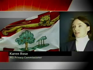 CBC+News+at+6+Jan+10+07+Karen+Rose Privacy Commissioner Rules in Favour of Disabled, Against Government photo