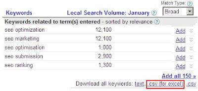Free Keyword Suggestions