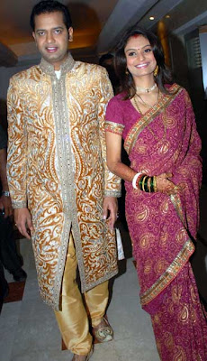 Rahul Mahajan wedding to Dimpy Ganguly