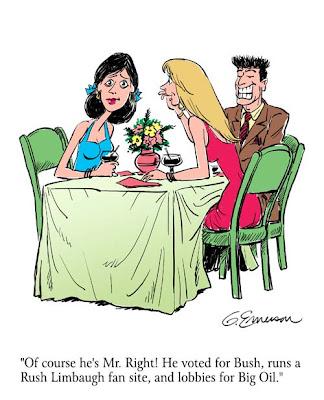 Online dating cartoons