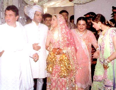 Bollywood Celebrity Weddings Karisma Kapoor Amp Sanjay