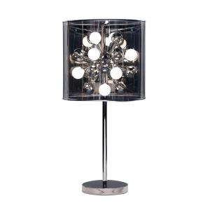 Adesso Starburst Chrome Table Lamp