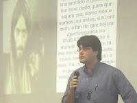Sérgio Aleixo em recente palestra na ADE-RJ