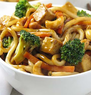 Chow Mein Tofu and Cashew recipe picture