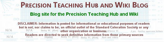 PRECISION TEACHING HUB AND WIKI BLOG