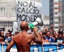 Endüstriyel futbola hayır