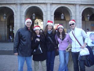 En Madrid con Blanca y sus amigas