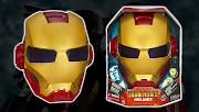IRON MAN 2: Artículos Role Play (iron man electronichelmet)