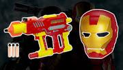 IRON MAN 2: Artículos Role Play (iron man nerfblaster mask)