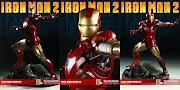 IRON MAN 2: Mark VI Maquette (ironman sideshow ironmanmarkvi )