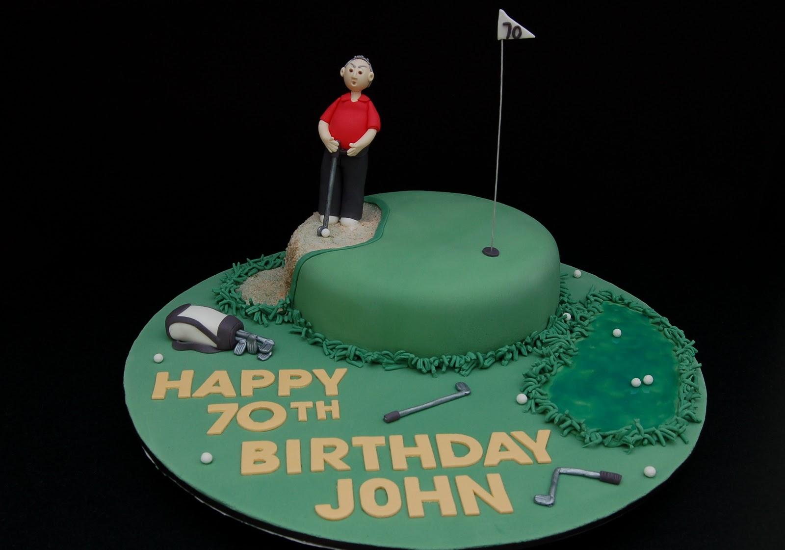 My Little Cake Room: Happy Gilmore...er, I meant to say ...