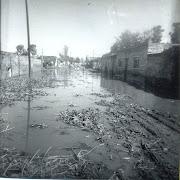 La Calle Principal Inundada en 1969