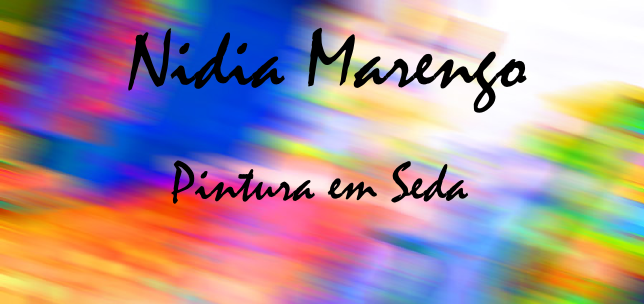Nidia Marengo - Pintura em Seda