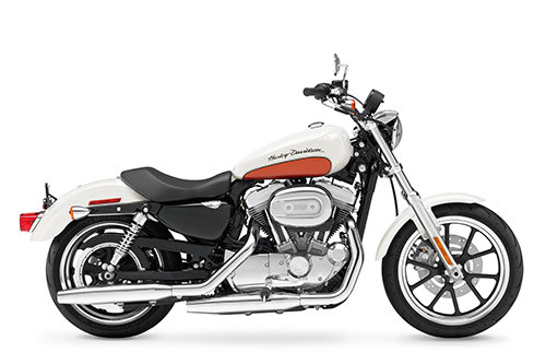 2011 Sportster XL883L SuperLow Side View