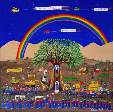 ♣ Esperanza en la Montaña ♣Mi homenaje a los 33 mineros chilenos
