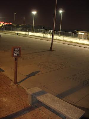 ShuffleboardCourts next to the Tennis Courts