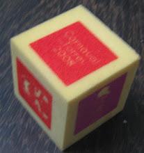 Dado usado no jogo de apresentação
