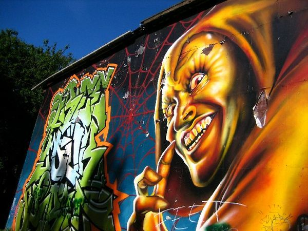 Betrapt bij aanbrengen graffiti