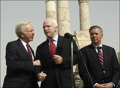 McCain, Lieberman, and Graham