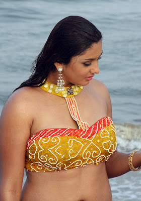latest images of namitha exposing assets